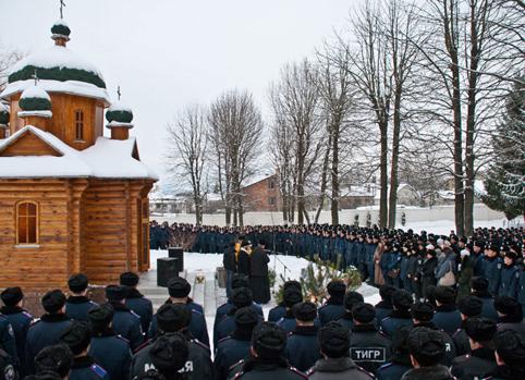 Військовослужбовці навчального центру відсвяткували Свято Богоявлення