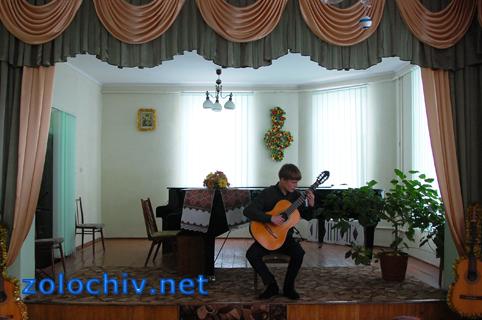 У Золочівській музичній школі відбувся концерт студентів Львівського музичного училища