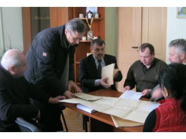Відбулось засідання комісії щодо вивчення наявної технічної документації вулиць