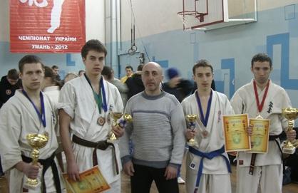 Золочівські спортсмени  представлятимуть  Україну на Чемпіонаті Європи з кіокушинкай карате