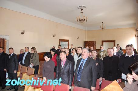 Відбулася ХХІ сесія Золочівської міської ради