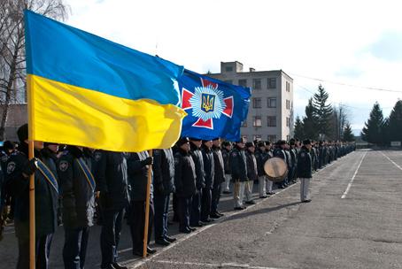 Навчальний центр відзначив 20-річчя з Дня створення внутрішніх військ МВС України
