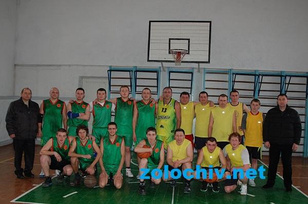 Відбулася товариська баскетбольна гра Золочів-Рогатин…