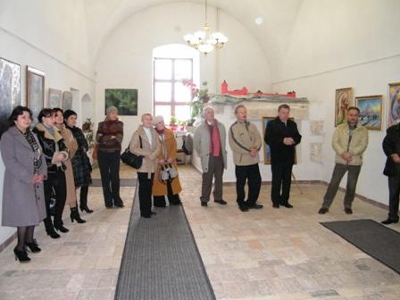 Відбулося урочисте відкриття Великодньої виставки золочівських митців