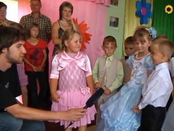 """Випускний у дитячому садочку «Пролісок"""" у селі Гончарівка (відео)"""