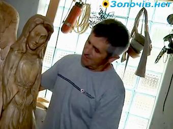 Золочівський майстер дерев'яної скульптури  – Андрій Маркевич (відео)