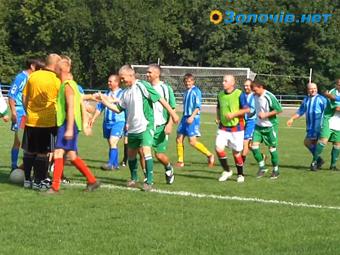 У Золочеві відбувся міжобласний турнір з футболу (відео)