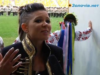 Фестиваль української оркестрової пісні. Інтерв'ю з співачкою Русланою