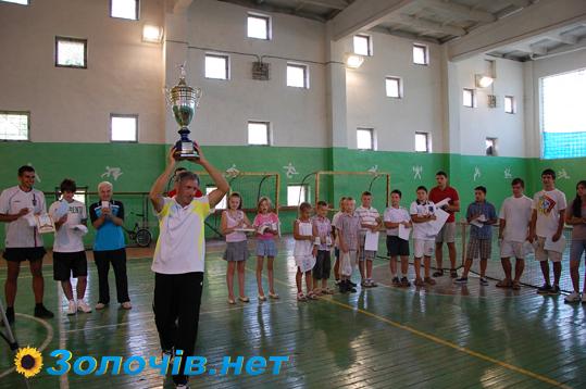 Відбулася фінальна частина матчів кубку Золочева з великого тенісу (відео)