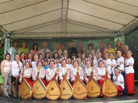 Золочів'яни представили Україну на фестивалі в Чехії