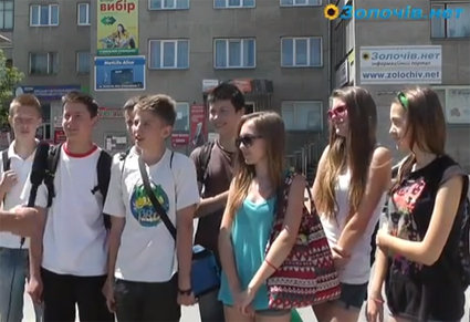 Як у Золочеві  рятуються від спеки (відео)