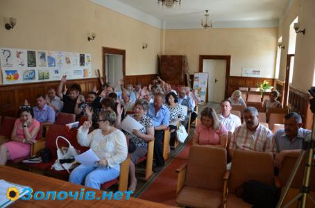 Відбулася чергова сесія Золочівської міської ради