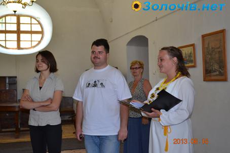 У Золочівському замку представили виставку літографій (відео)