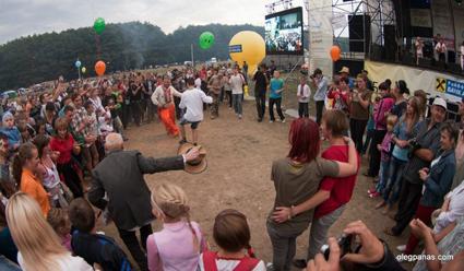 Молодь танцюватиме на етнофестивалі «Підкамінь-2013» банси!