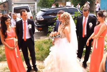 Весілля по-золочівськи (відео)