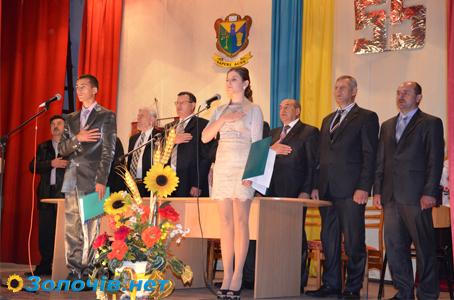 Золочівський коледж Львівського НАУ відсвяткував своє 55 річчя (відео)