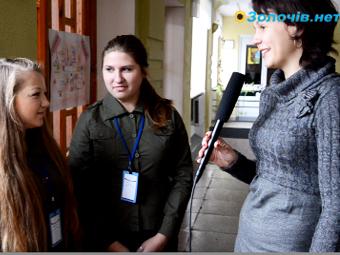 Як відзначають своє свято Золочівські студенти (відео)
