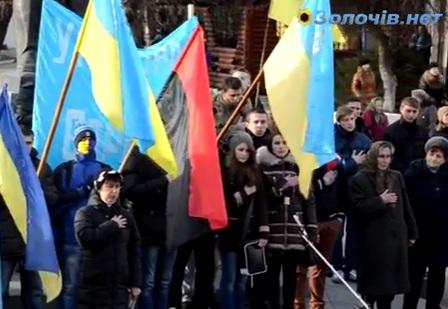 У Золочеві продовжуються масові страйки (відео)