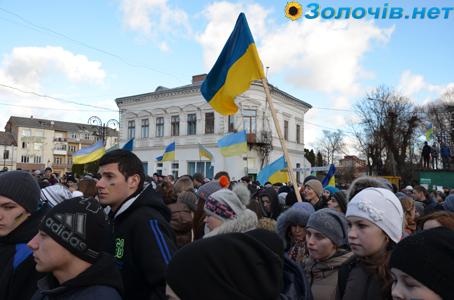 У Золочеві закликали членів районної Партії регіонів до саморозпуску (відео)