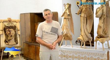 В Золочівському замку відкрилася виставка Андрія Маркевича (відео)