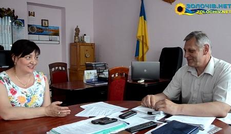 Голова Золочівської РДА розповів про адміністративну реформу (відео)