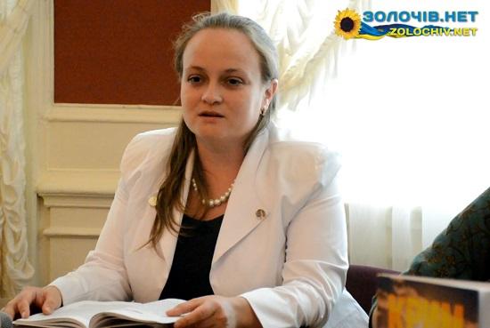Катерина Тихонова презентувала свою новелу на книжковому «Форумі видавців у Львові» (відео)
