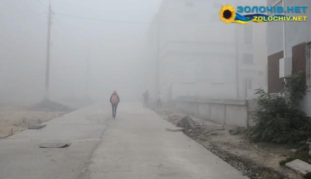 Ранкові тумани у Золочеві (відео)