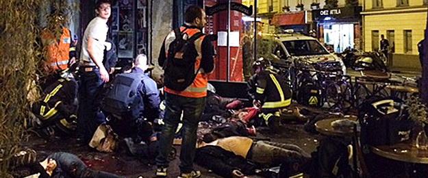 Теракти в Парижі: загинули 153 людини (відео)