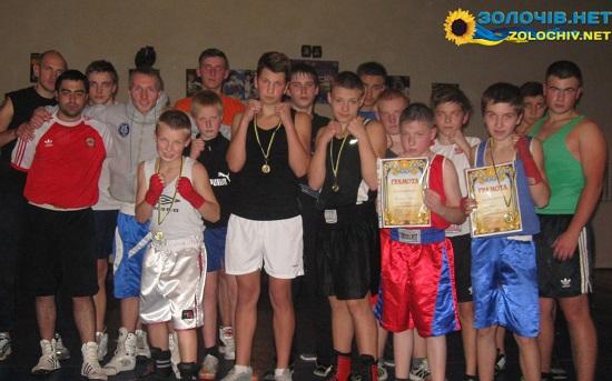 У Золочеві провели змагання з боксу (відео)
