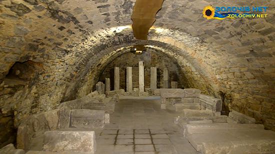 Для огляду відкриють підземелля Великого палацу Золочівського замку (відео)