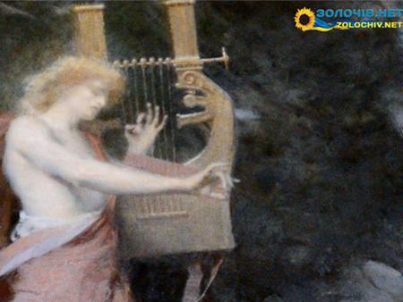 Картина «Орфей між хижаками» в експозиції Золочівського замку (відео)