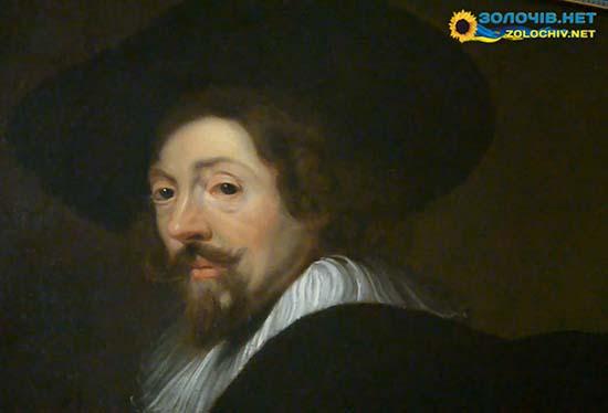 Автопортрет Рубенса в експозиції Золочівського замку (відео)
