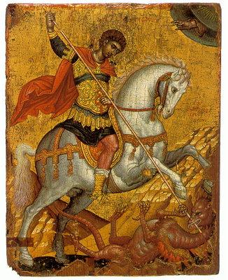 Сьогодні день святого Юрія – Змієборця і Переможця