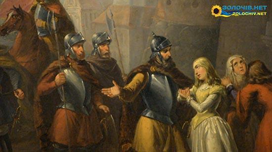 Картина «Оборона Теребовлі» у експозиції Великого палацу Золочівського замку (відео)