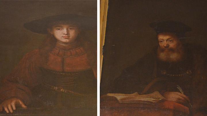Творчість Рембрандта в експозиції Золочівського замку