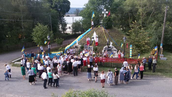 Свято Незалежності України у Великій Вільшаниці