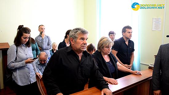 У Золочеві відбувся суд у справі про ДТП, в якому загинули троє людей, серед яких співак Владіслав Левицький