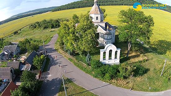 Село Черемошня з висоти пташиного польоту