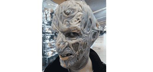 У Львові зловмисник викрав з торгового центру маску Фреді Крюгера