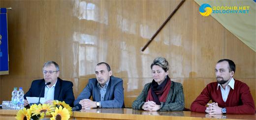 На зустрічі у Золочівській районній раді говорили про впровадження територіальної реформи