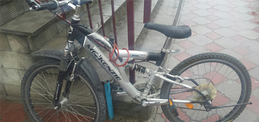 Залишено велосипед