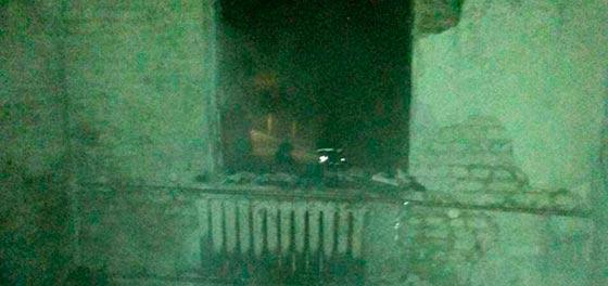 Внаслідок пожежі в будинку власник отруївся продуктами горіння
