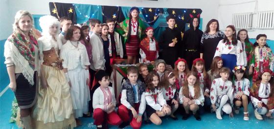 Новорічна вистава–мюзикл «Вечори на хуторі біля Диканьки»