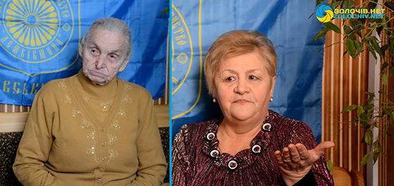 """Старійшини """"Родинного дерева"""":  Марія Яворницька та Ярослава  Вельган"""