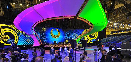 Сцена Євробачення-2017 повністю готова