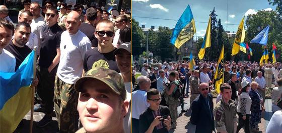 Золочів'яни взяли участь в святі Героїв у Львові