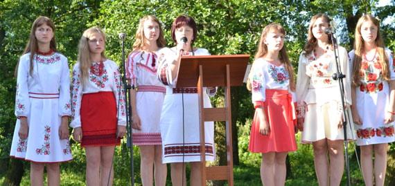 Молодіжний фестиваль у селі Шпиколоси