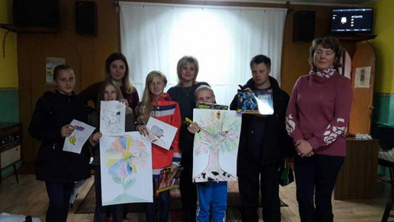 Золочів'яни взяли участь у обласному Пленері юних художників