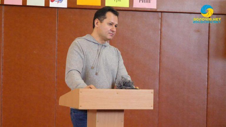 У селі Червоне відбулася зустріч із нардепом Тарасом Батенком