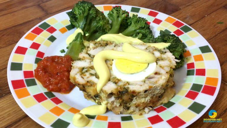 Суботня кухня: готуємо курку з яйцями